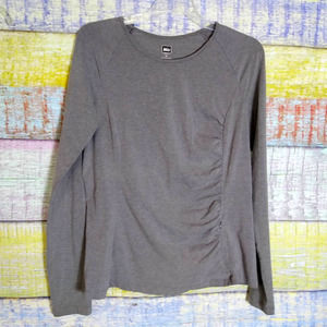 Rei Outdoors gray long sleeve top size M